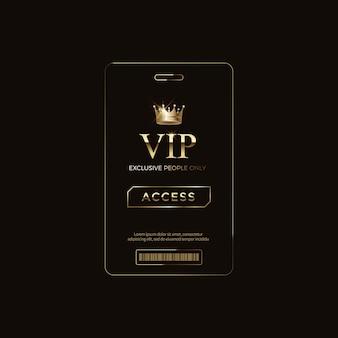 Luxus vip-etiketten und objekte