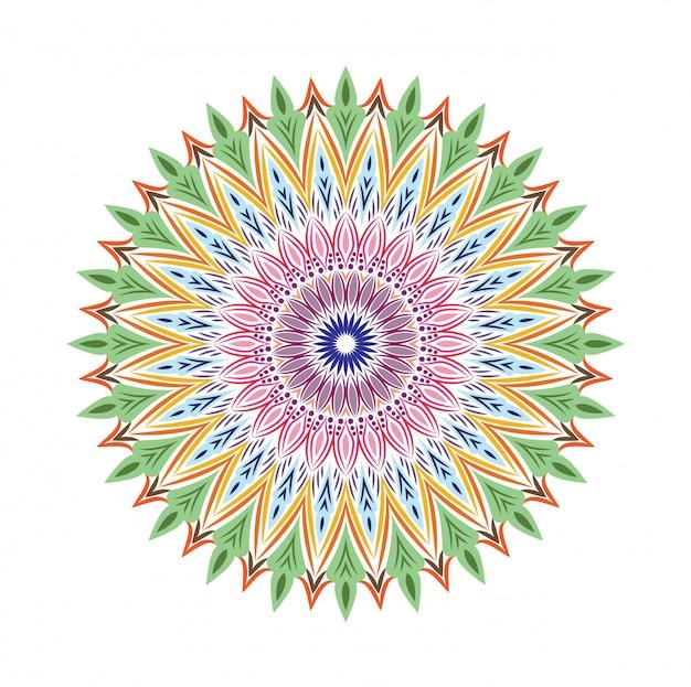 Luxus zier mandala design