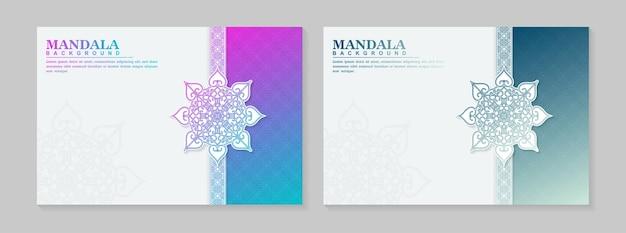 Luxusabdeckung mit mandala