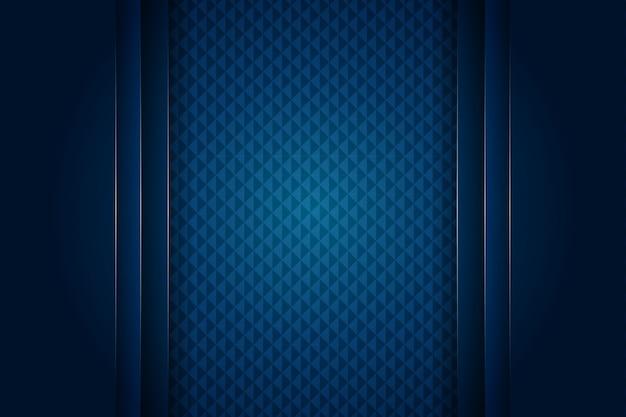Luxusabstrakter dunkelblauer hintergrund