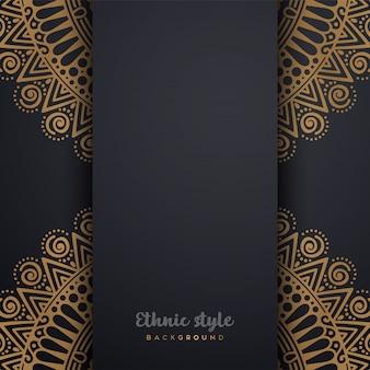 Luxusdesign im arabischen stil