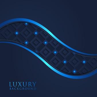Luxuseinladung der eleganten schablone