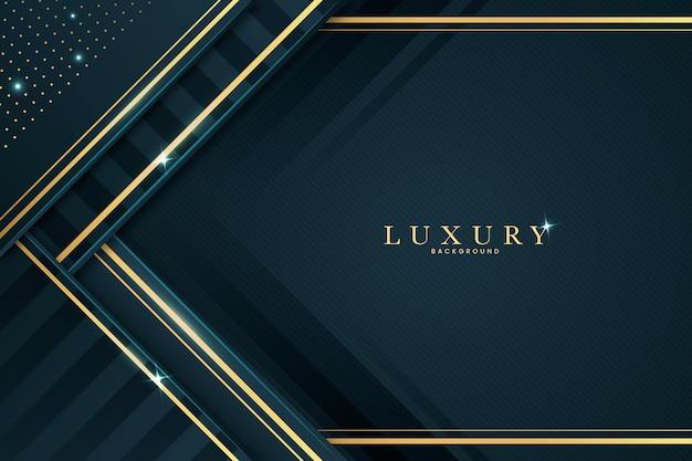 Luxushintergrund im papierstil