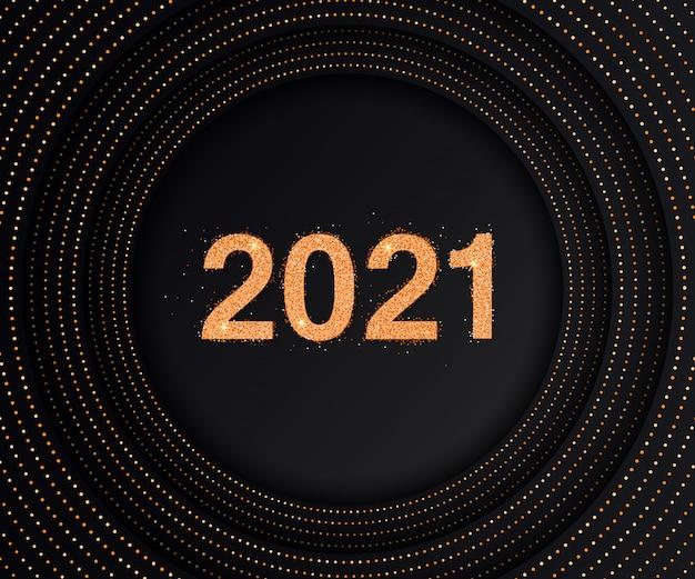 Luxushintergrund mit 2021