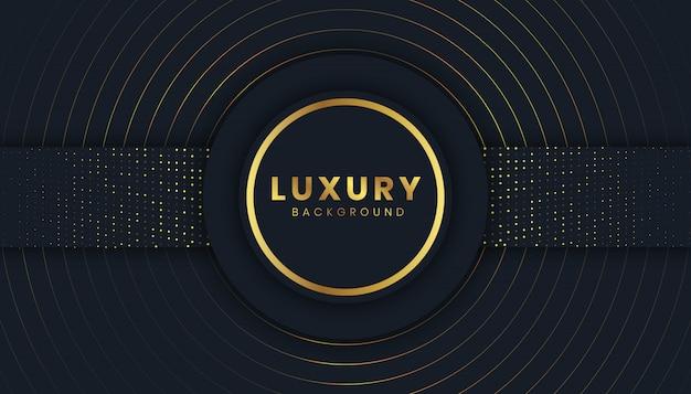 Luxushintergrund mit goldenem funkeln