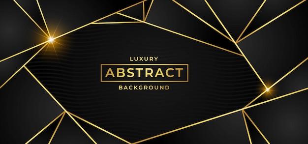 Luxushintergrund mit goldenem vektor