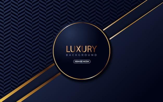 Luxushintergrund mit kreisformen auf midle.
