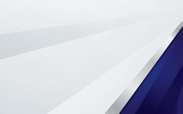 Luxushintergrund mit silberner grenze und blauer farbe