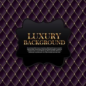 Luxushintergrund mit text schablone