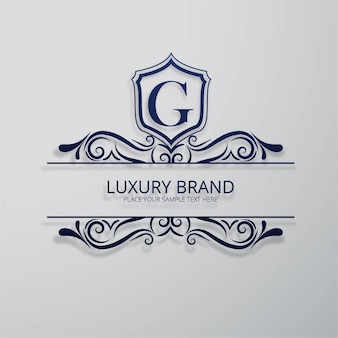 Luxusmarke hintergrund