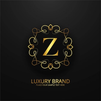 Luxusmarke logo hintergrund