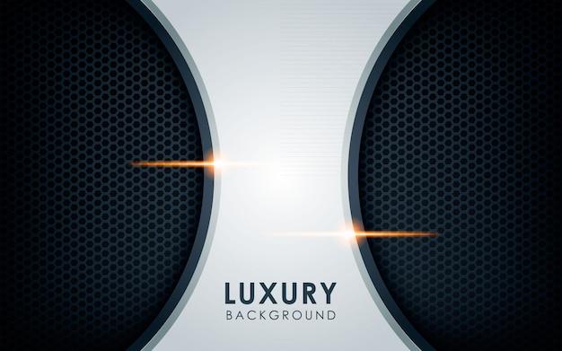 Luxusüberlappungsschichthintergrund