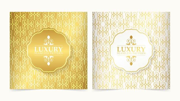 Luxusverzierungsmuster-designhintergrund