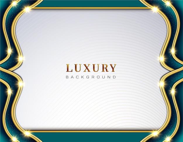 Luxuswelle mempis papierhintergrund
