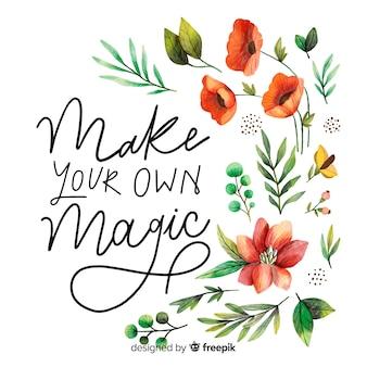 Mache deine eigene magie