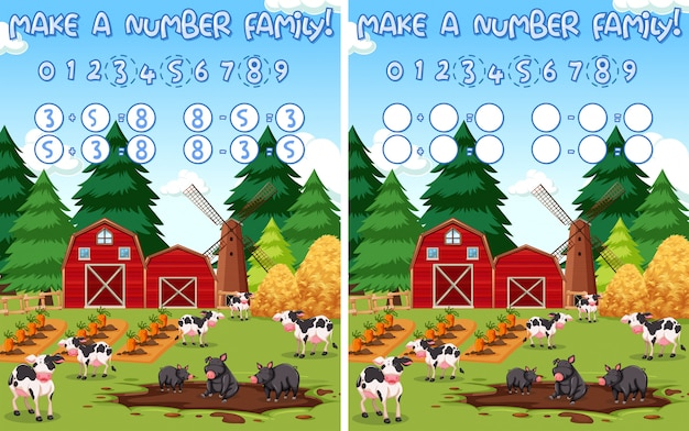 Machen sie eine zahl farm mathematik