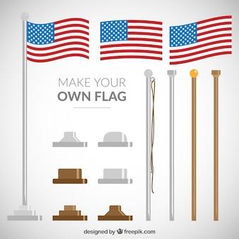 Machen sie ihre eigene flagge