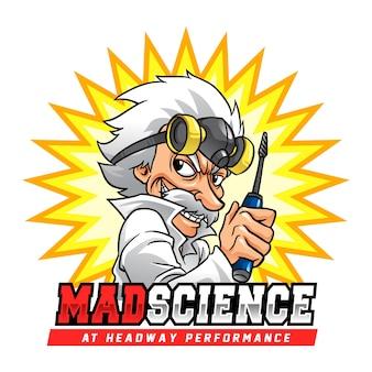Mad science professor