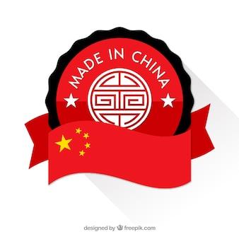 Made in china-etikett
