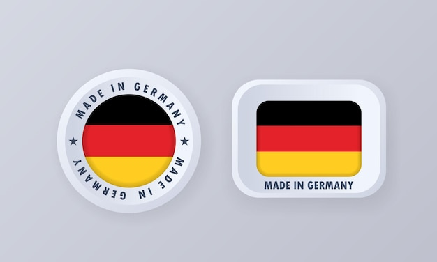 Made in germany illustration