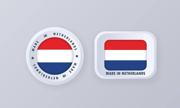 Made in netherlands illustration