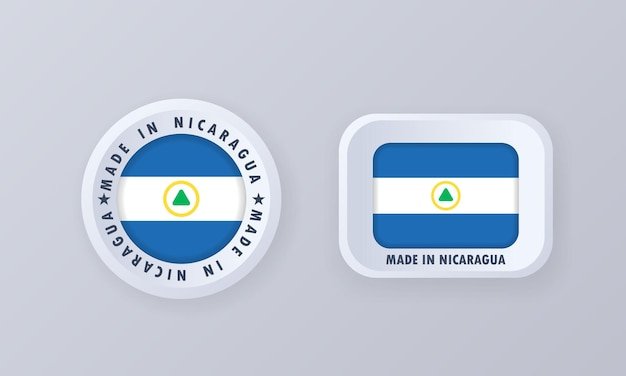 Made in nicaragua illustration