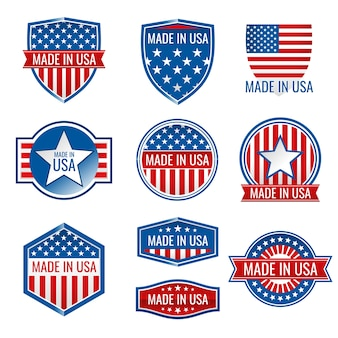 Made in usa vektor-icons