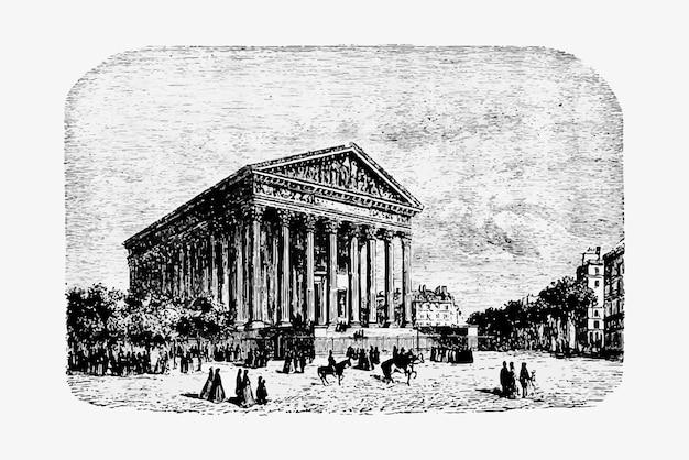 Madeleine-kirche in paris