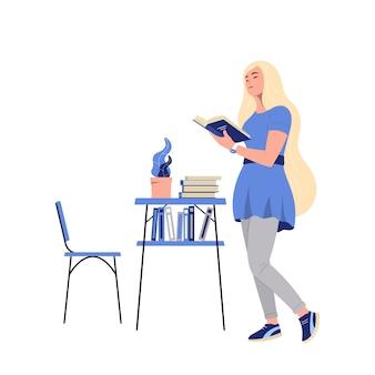 Mädchen, ein buch zu lesen
