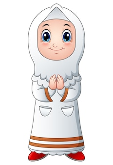 Mädchen muslimische karikatur