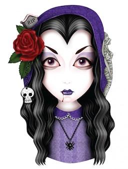 Mädchen-vampir