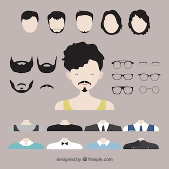Männer avatar creator