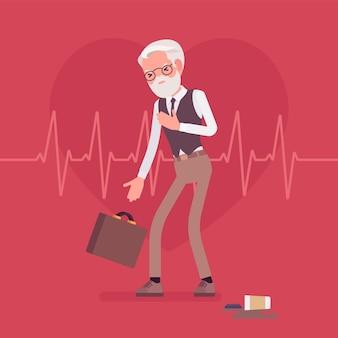 Männliche symptome eines herzinfarkts