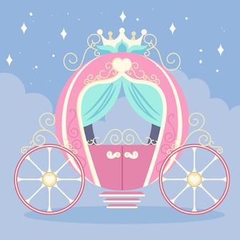 Märchenhafter zauberwagen
