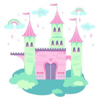 Märchenschlosskonzept