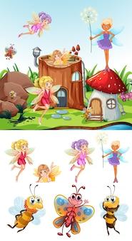 Märchenszene mit set