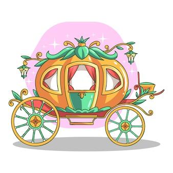 Märchenwagen hand gezeichnete art