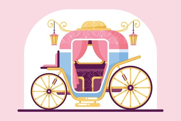 Märchenwagen illustration