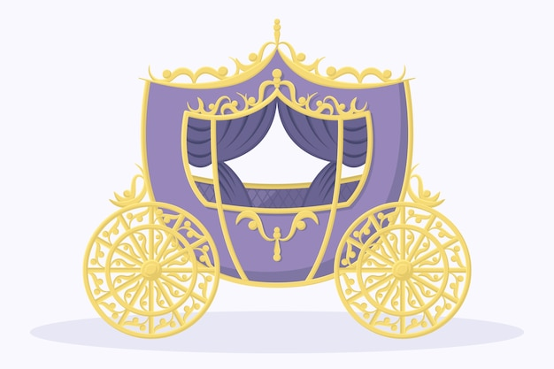 Märchenwagen mit elegantem design