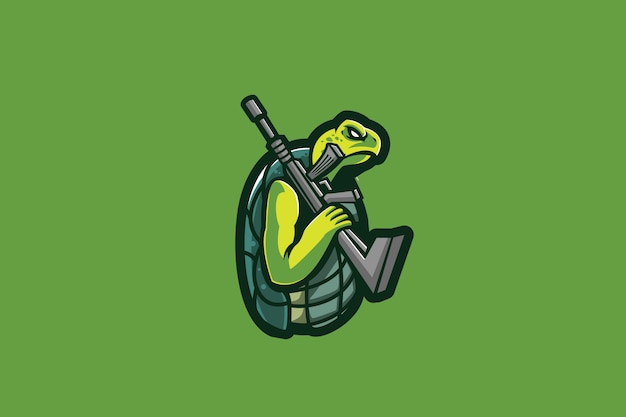 Mafia turtle e sports-logo