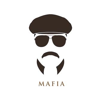 Mafioso-mannportrait