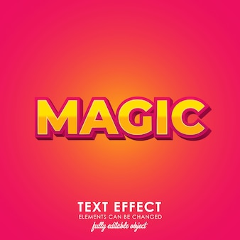 Magic premium-textstil