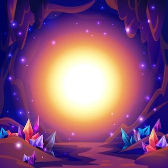 Magische höhle
