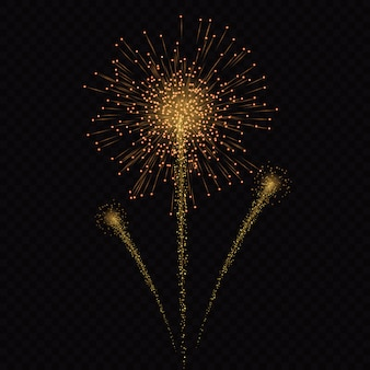 Magische lichtglüheneffektsterne birst mit den scheinen, die auf transparentem hintergrund lokalisiert werden. leichte spur