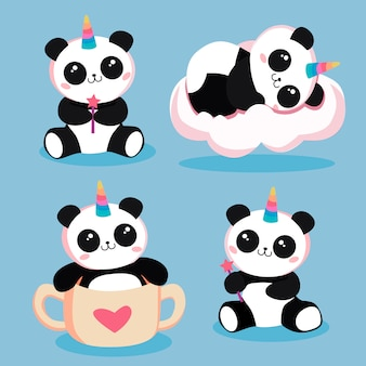 Magische pandas
