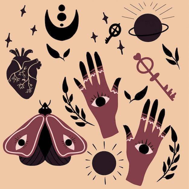 Magische und okkulte elemente