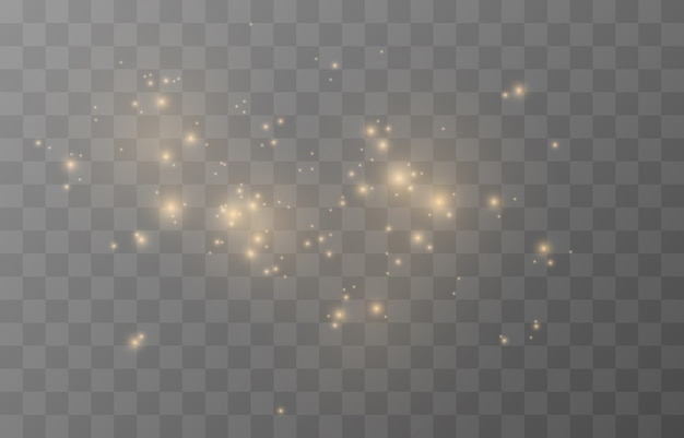 Magisches leuchten funkelndes licht funkelndes funkeln funkelnder staub png funkelnder magischer staub weihnachtslicht