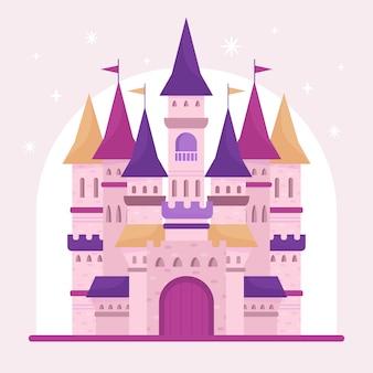 Magisches märchenschloss
