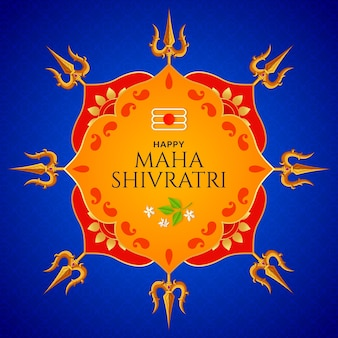 Maha shivratri shiva trishul hintergrund