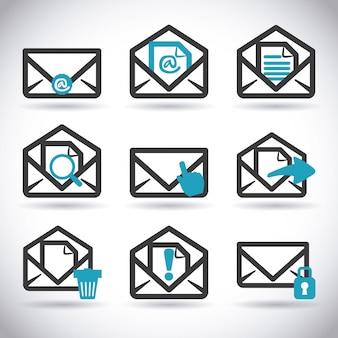Mail-icon-design